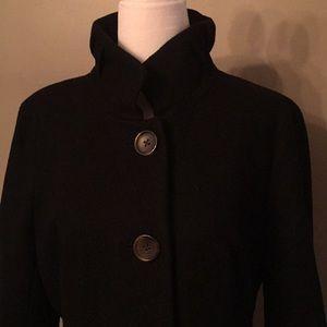 J Crew Black Wool Jacket